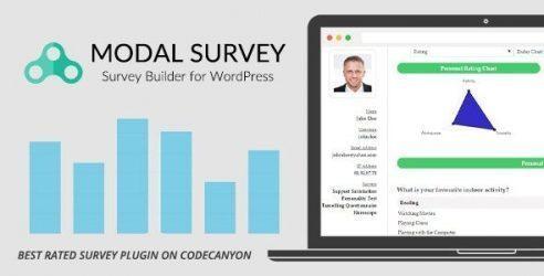 Best WordPress Survey Plugin - Modal Survey