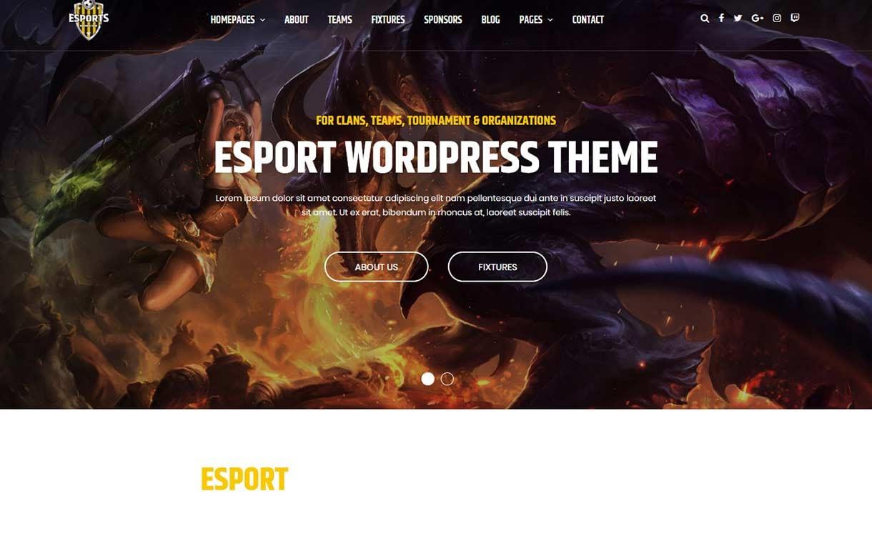 esport-best-premium-gaming-wordpress-theme