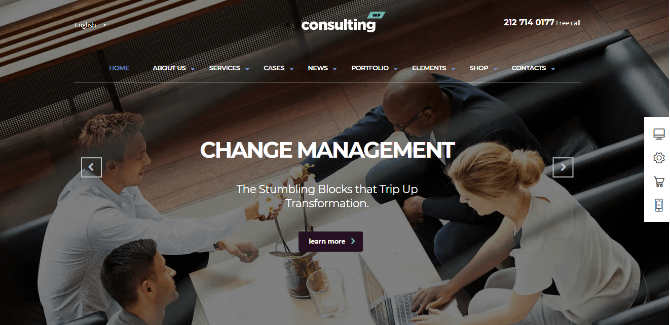 Consulting - Best Financial Company WordPress Theme