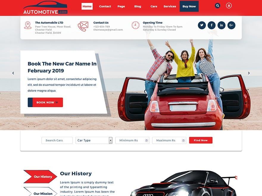 sayara-automotive-best-free-automobile-wordpress-theme
