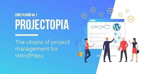 Projectopia - Best WordPress Project Management Plugin