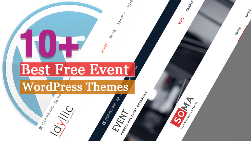 10+ Best Free Event WordPress Themes