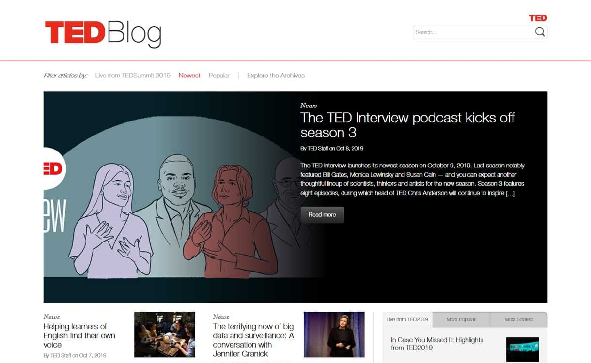 TED-Blog