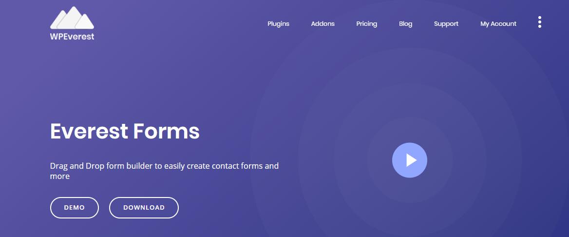 Best WordPress Survey Plugin - Everest Forms