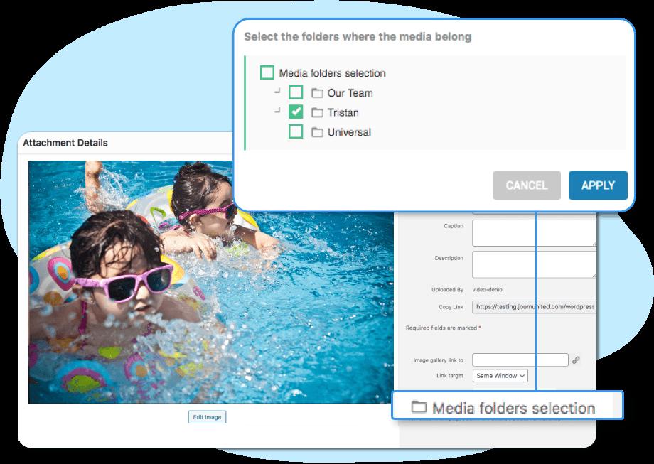 Multiple folders section