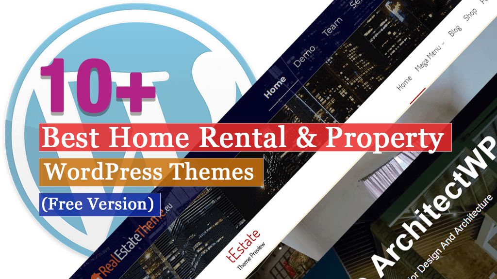 Best Free Home Rental and Property WordPress Themes
