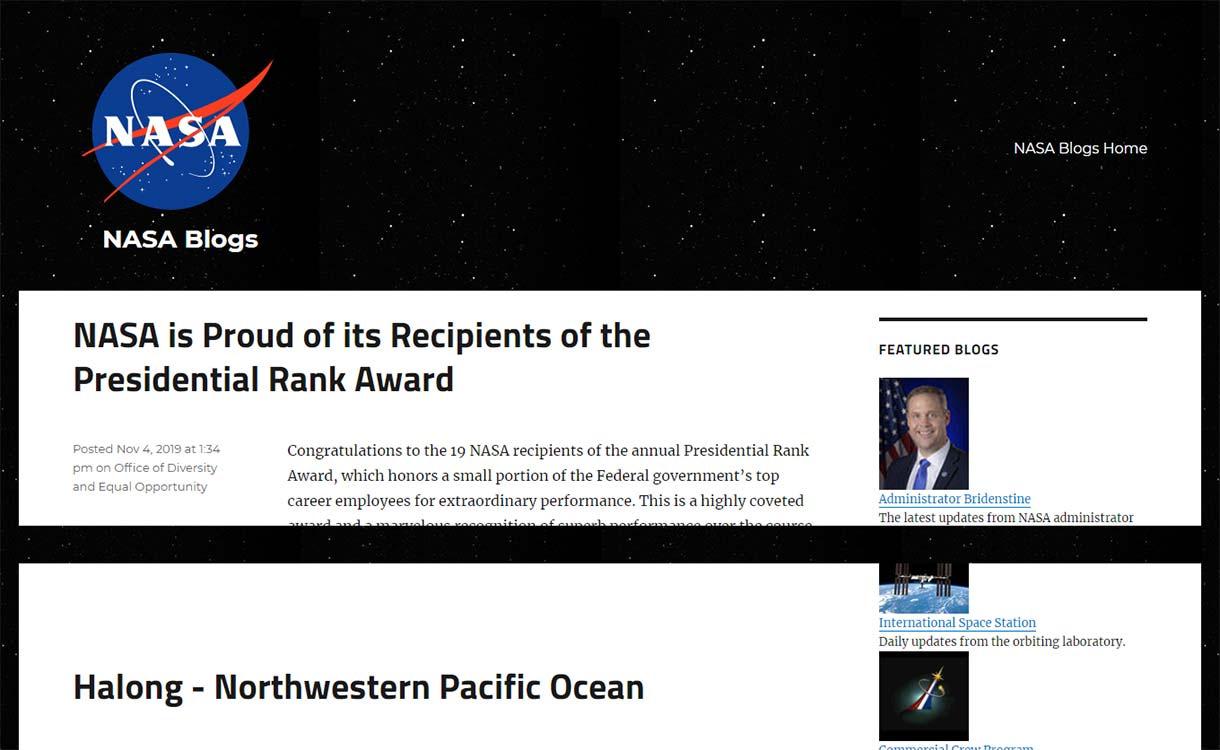 NASA-Blogs