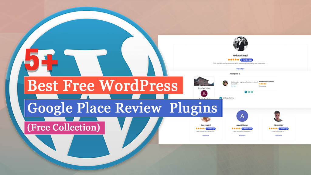 Free WordPress Google Place Review Plugins
