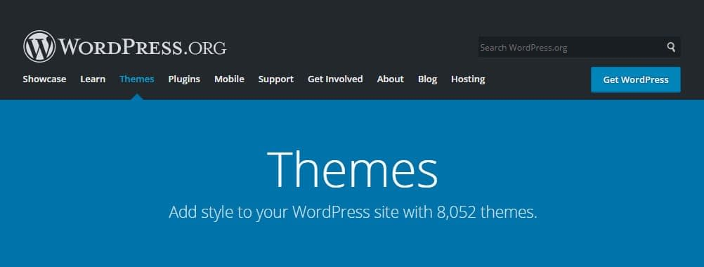 official WordPress directory