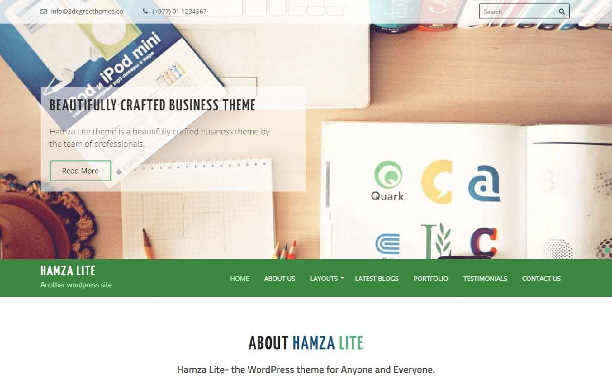 hamza-lite-best-free-responsive-wordpress-theme