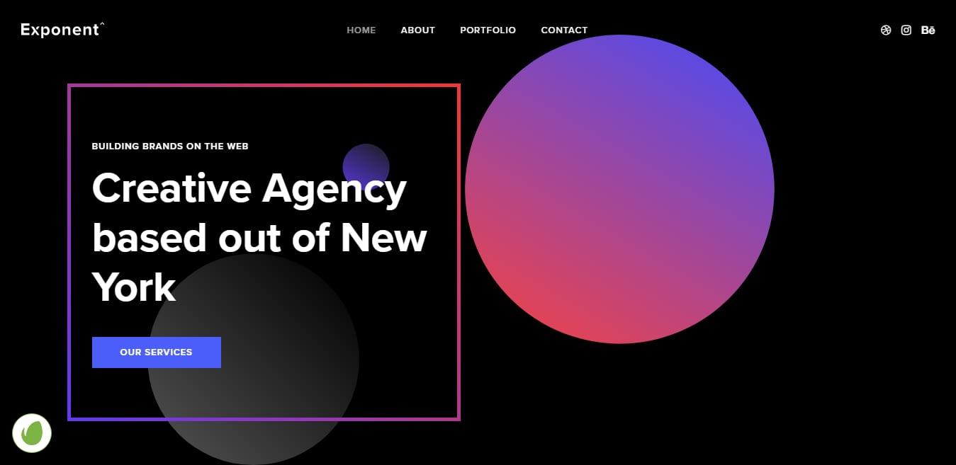 Exponent – Best Marketing Agency WordPress Theme