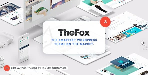 the fox-multipurpose-wordpress-theme