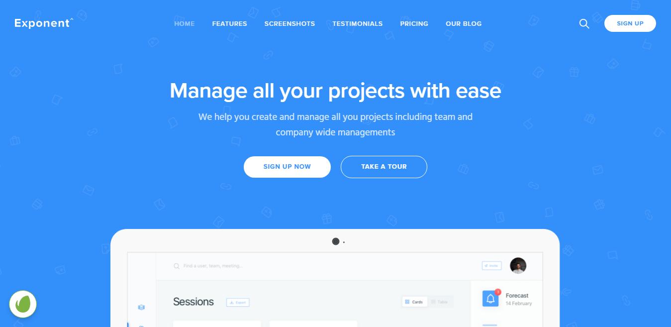 Exponent – Best SaaS WordPress Theme