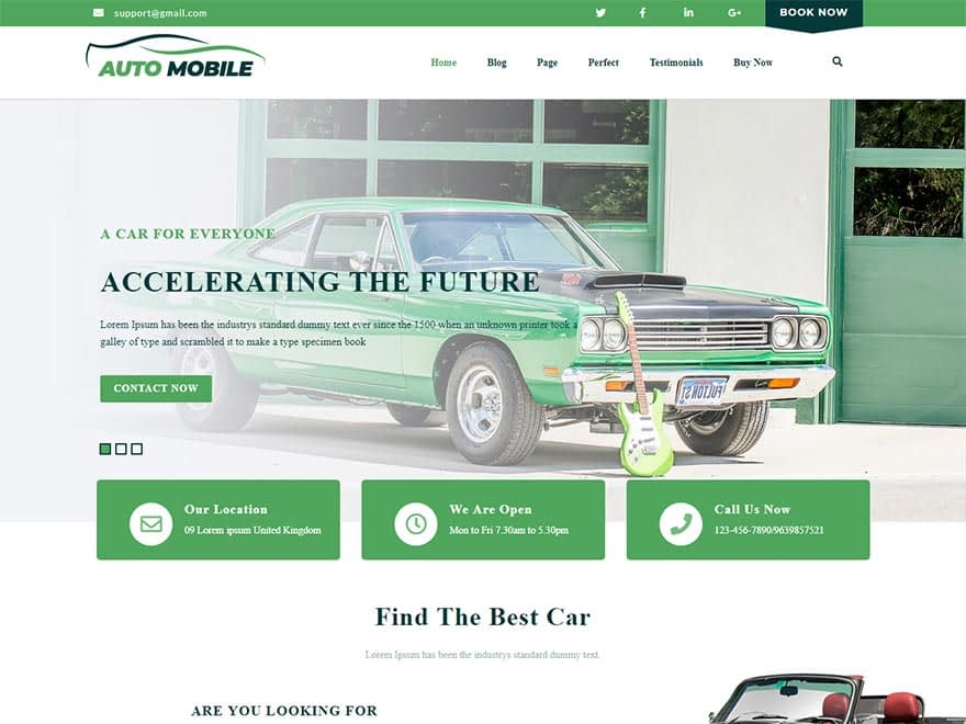advance-automobile-best-free-automobile-wordpress-theme