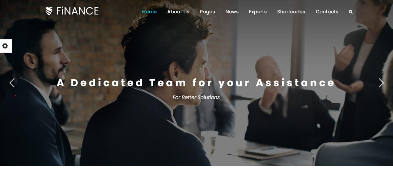 Finance Consultant - Best Financial Company WordPress Theme