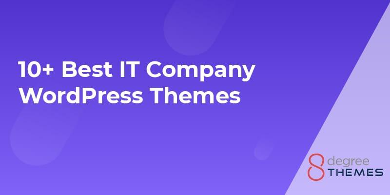 10+ Best IT Company WordPress Themes - 2021