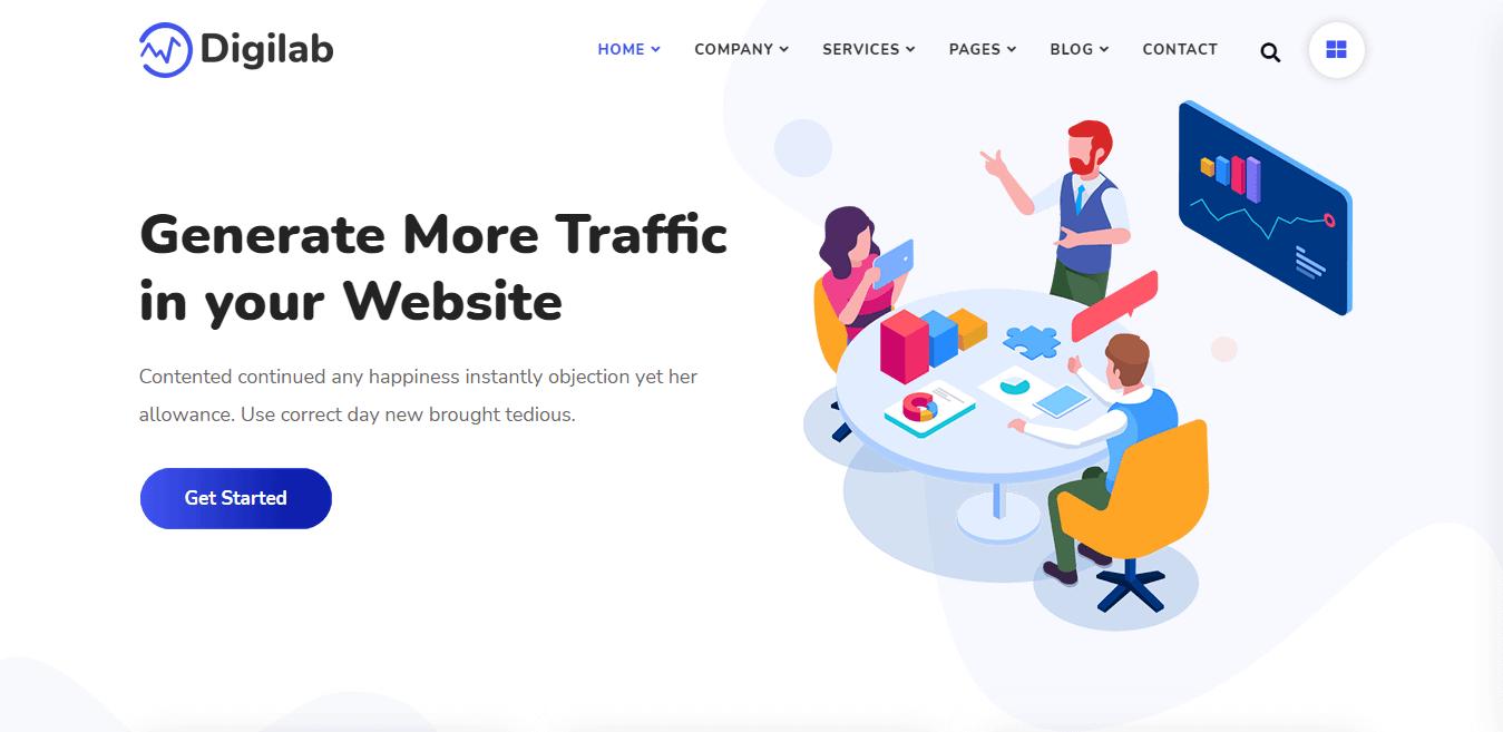 Digilab – Best Marketing Agency WordPress Theme