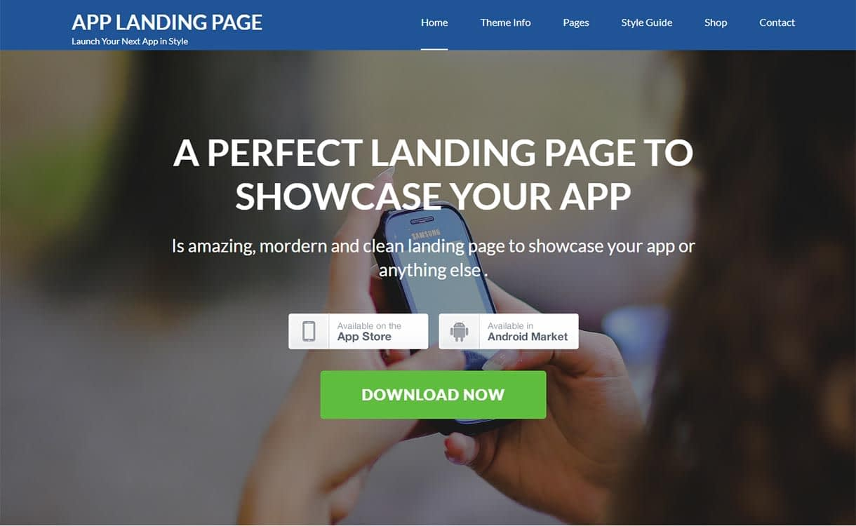 app-landing-page-best-free-mobile-app-wordpress-theme