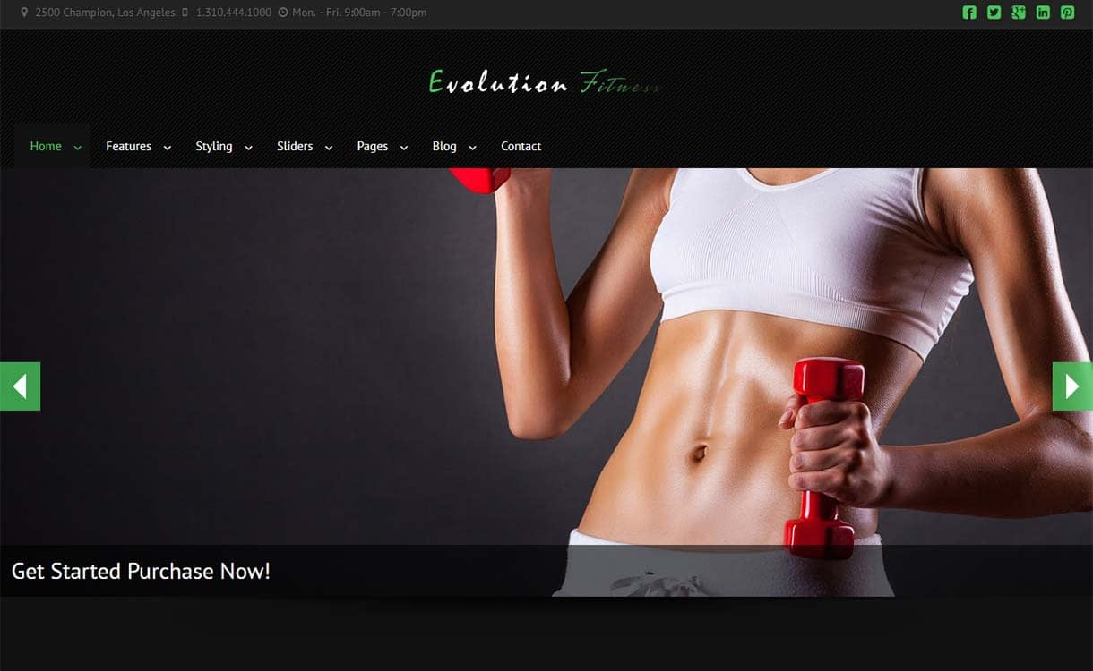 evolution-fitness-best-premium-fitness-wordpress-theme