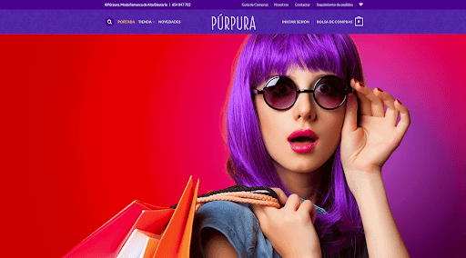 Purpura - Best eCommerce WordPress website