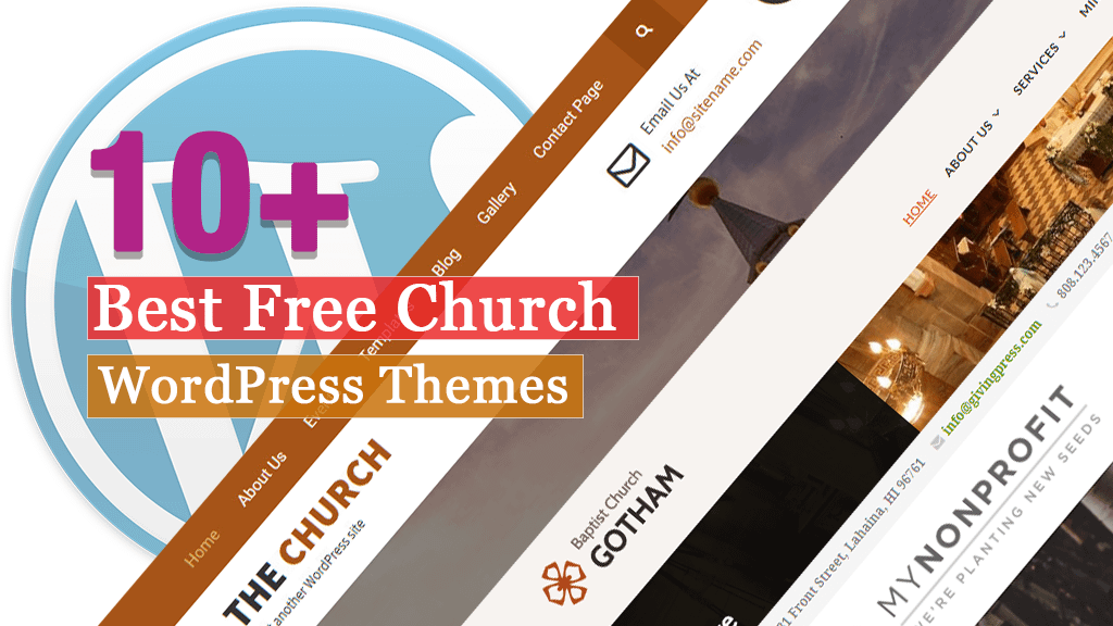 10+ Best Free WordPress Church Themes
