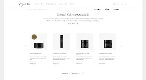 Sodashi - Best eCommerce WordPress website