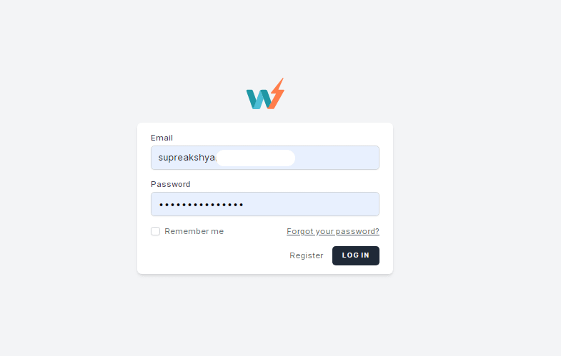 Login to your InstaWP account