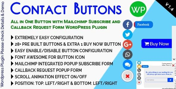 Best WordPress Plugin to Add Live Chat and Call Buttons – Contact Buttons