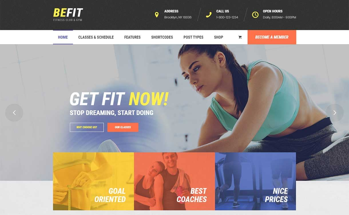 be-fit-best-premium-fitness-wordpress-theme