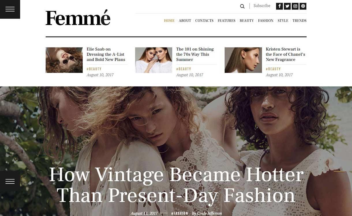 femme-best-premium-wordpress-blog-themes