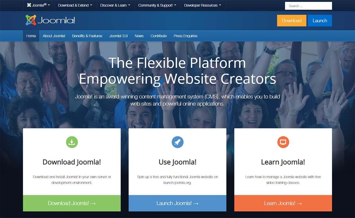joomla-blogging-site