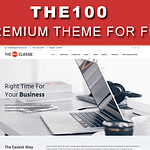 The100 Best Free WordPress Theme