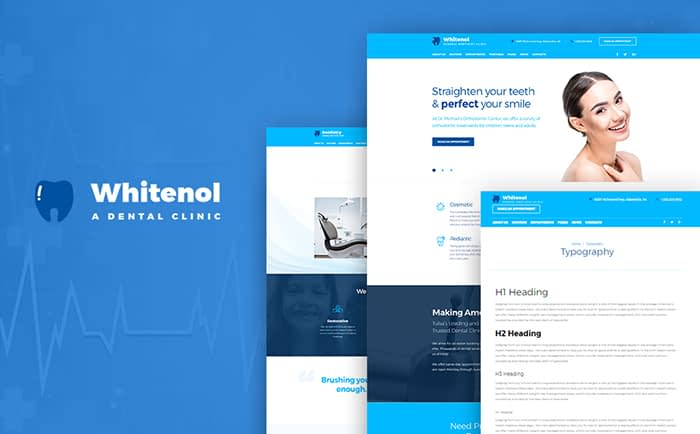Whitenol - Dentistry Clinic Responsive WordPress Theme