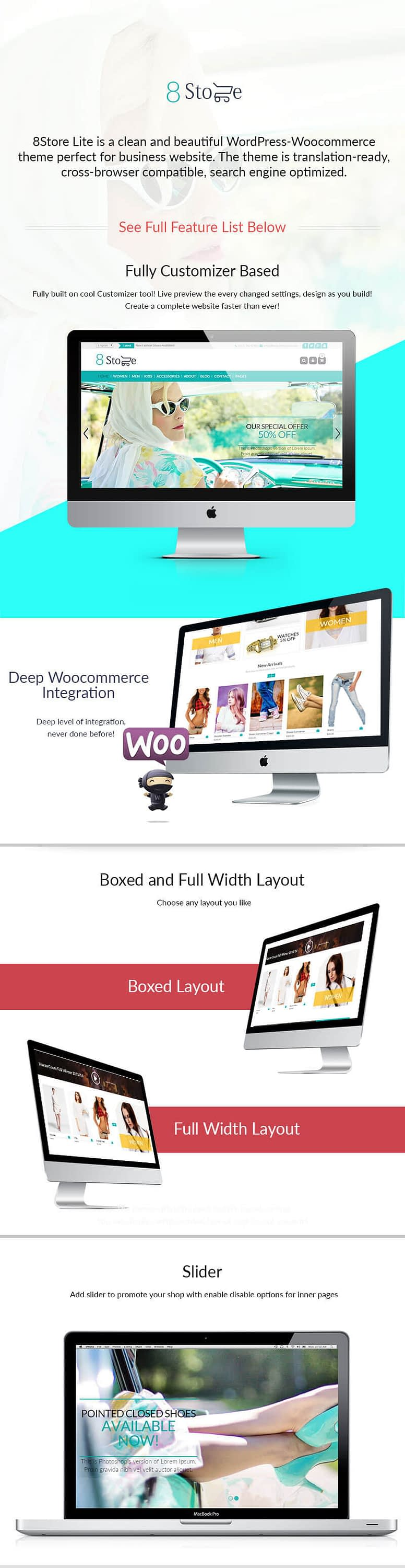 EightStore Lite – Best Free WooCommerce, eCommerce and Store WordPress Theme