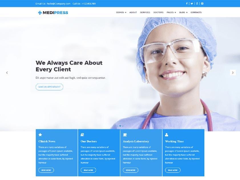 medipress-free-wordpress-theme