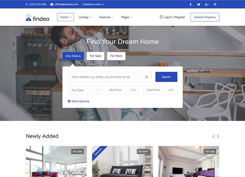 findeo-real-estate-wordpress-theme
