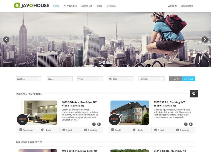 javo-house-real-estate-wordpress-theme