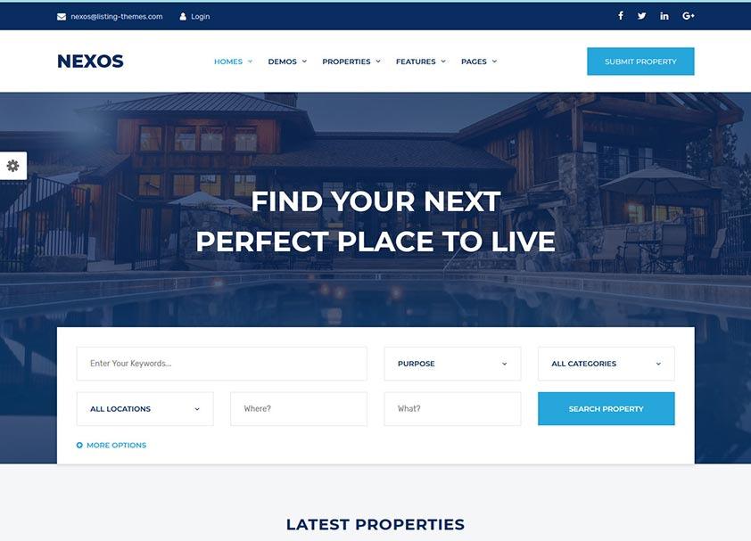 nexos-real-estate-wordpress-theme