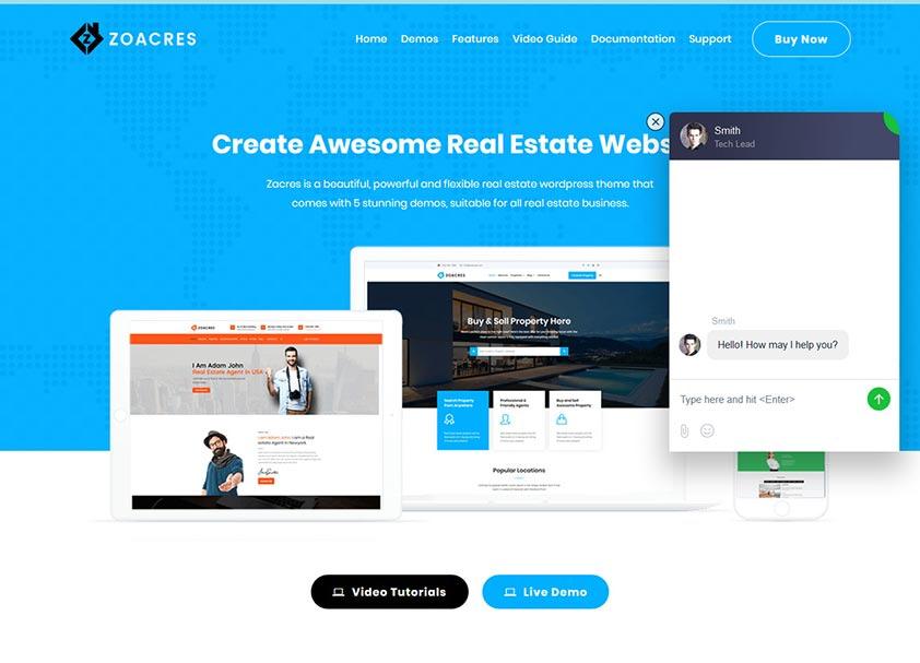 zoacres-real-estate-wordpress-theme