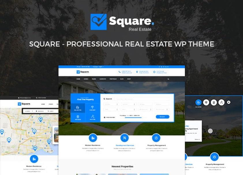 square-real-estate-wordpress-theme