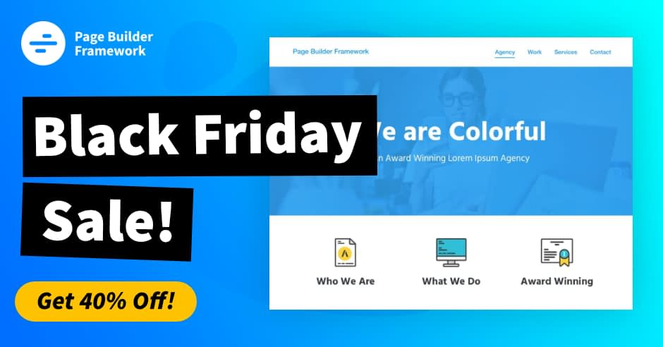 page-builder-framework-black-friday-deals