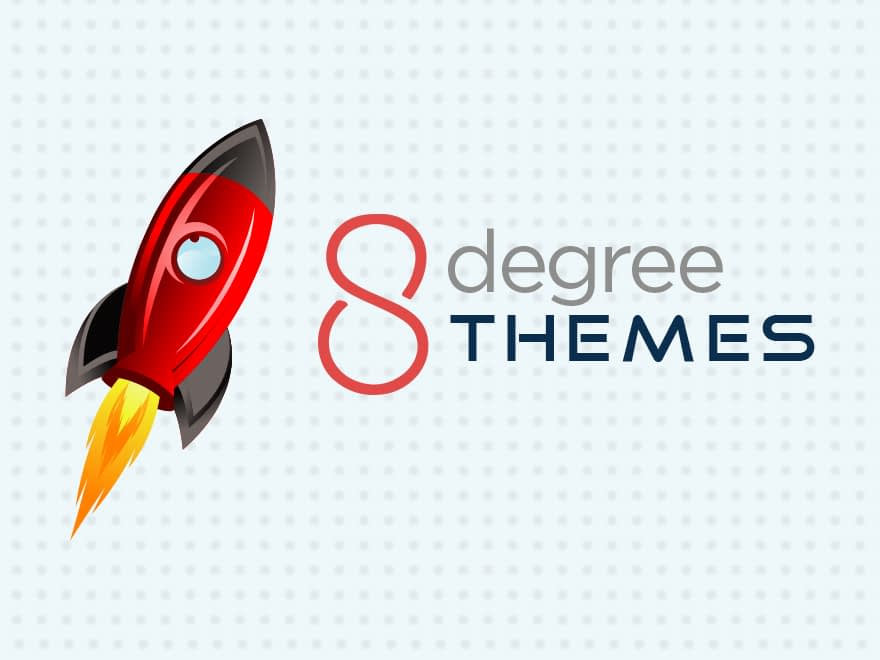 8Degree Themes - A premium WordPress theme club is launched with exciting features