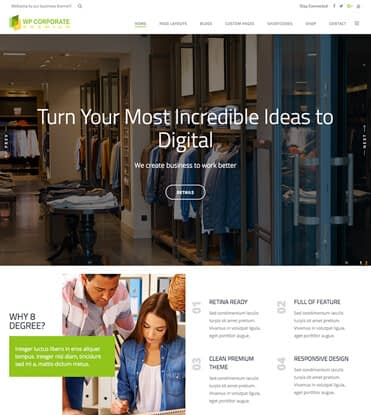 WP Corporate - Best Premium WordPress Business Theme