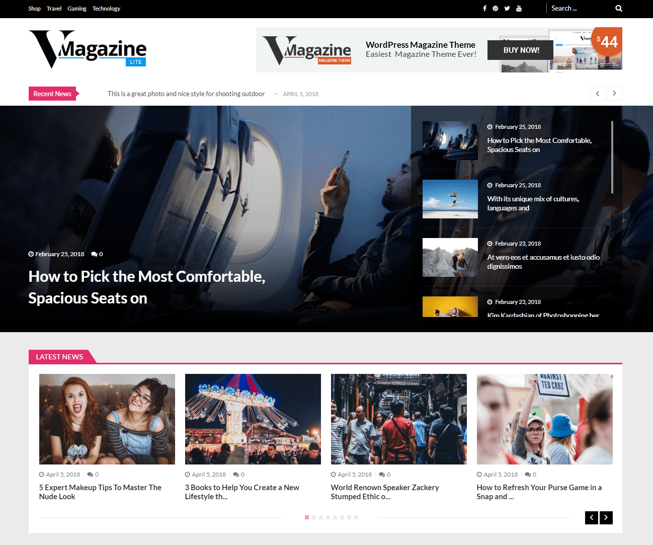 15+ Best FREE News Magazine WordPress Themes 2019