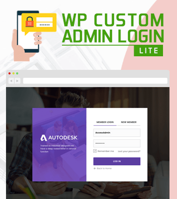 WP Custom Admin Login Lite - Free WordPress plugin to make a customized admin login page