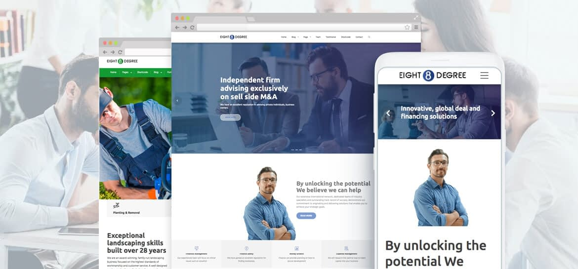 Eight Degree Pro � WordPress Corporate Business Premium Theme