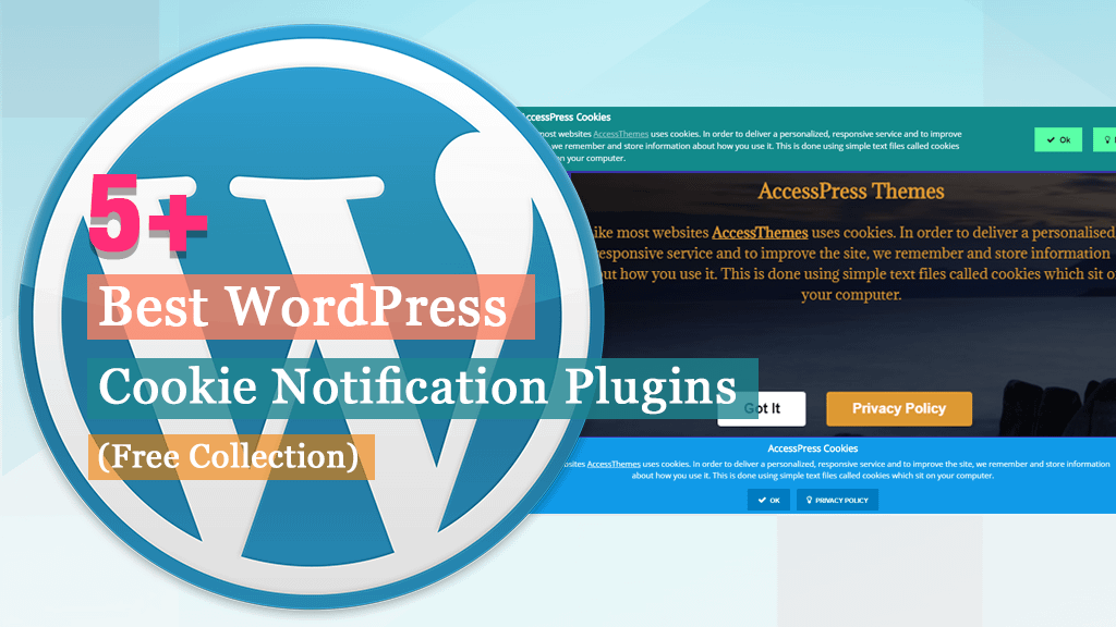 Free WordPress Cookie Notification Plugins